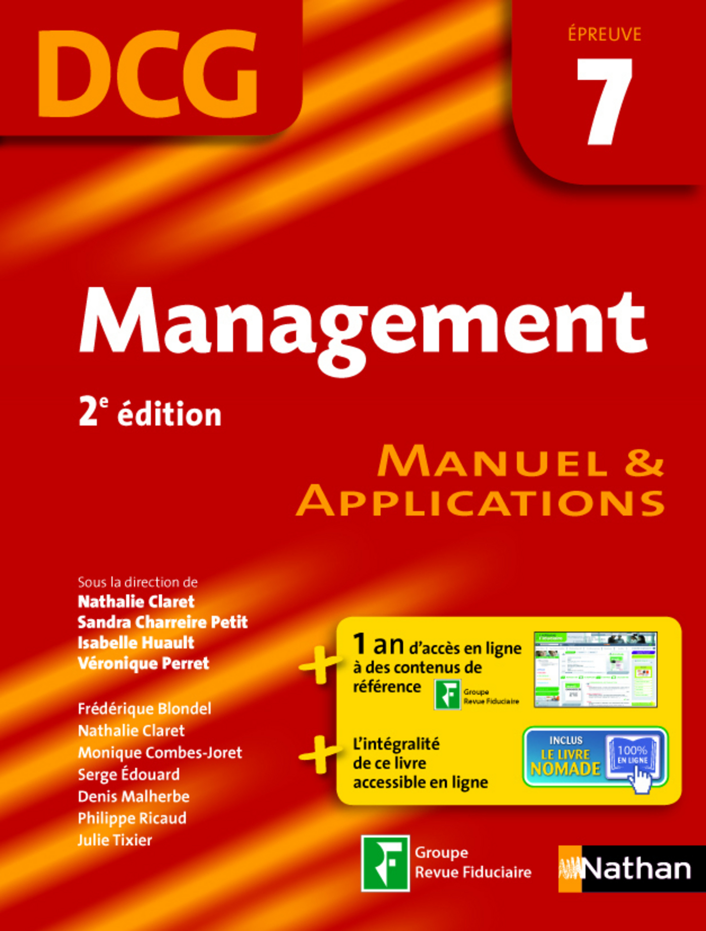 Management - épreuve 7 - DCG manuel (ebook)