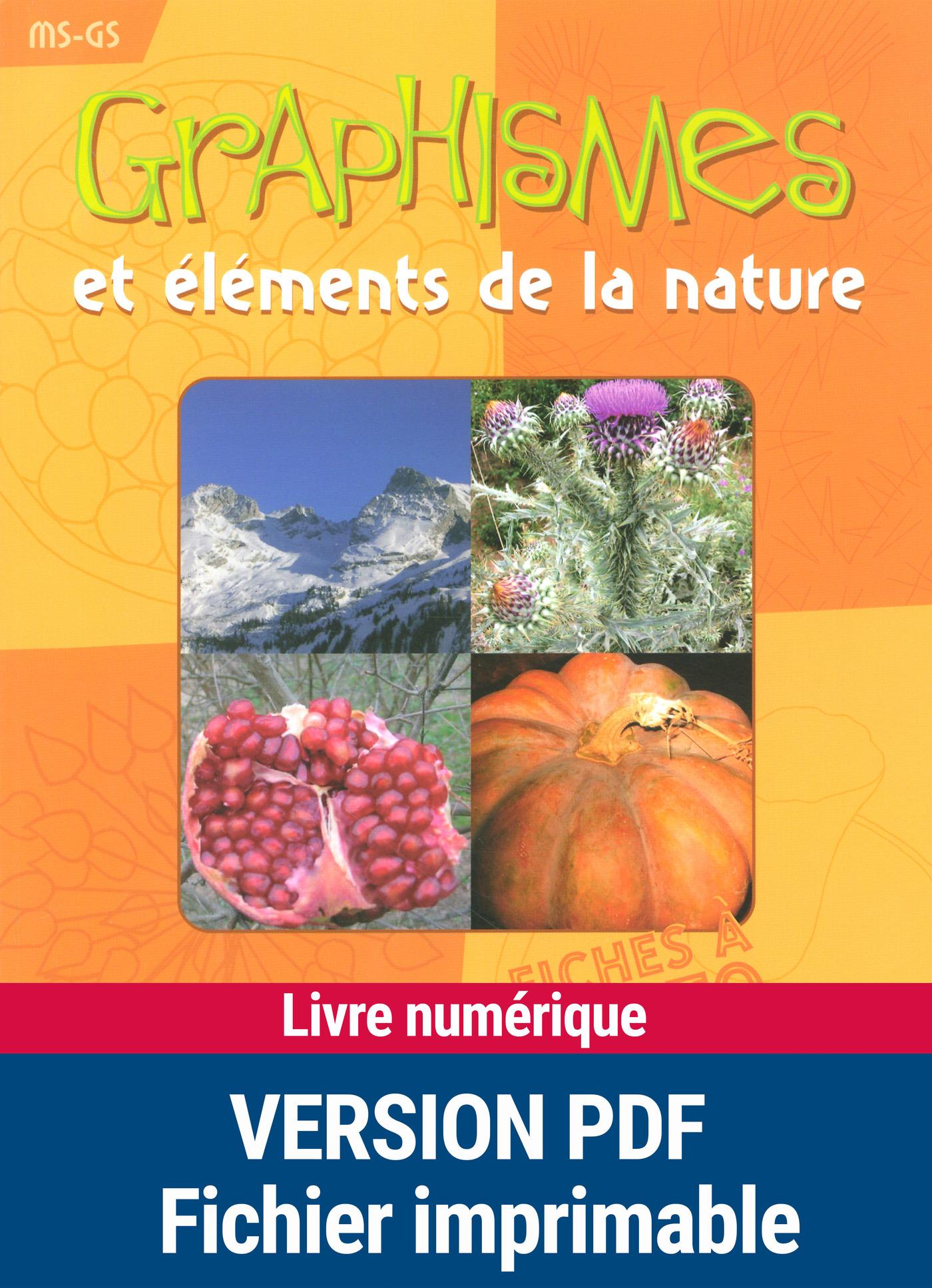Graphismes et éléments de la nature (ebook)