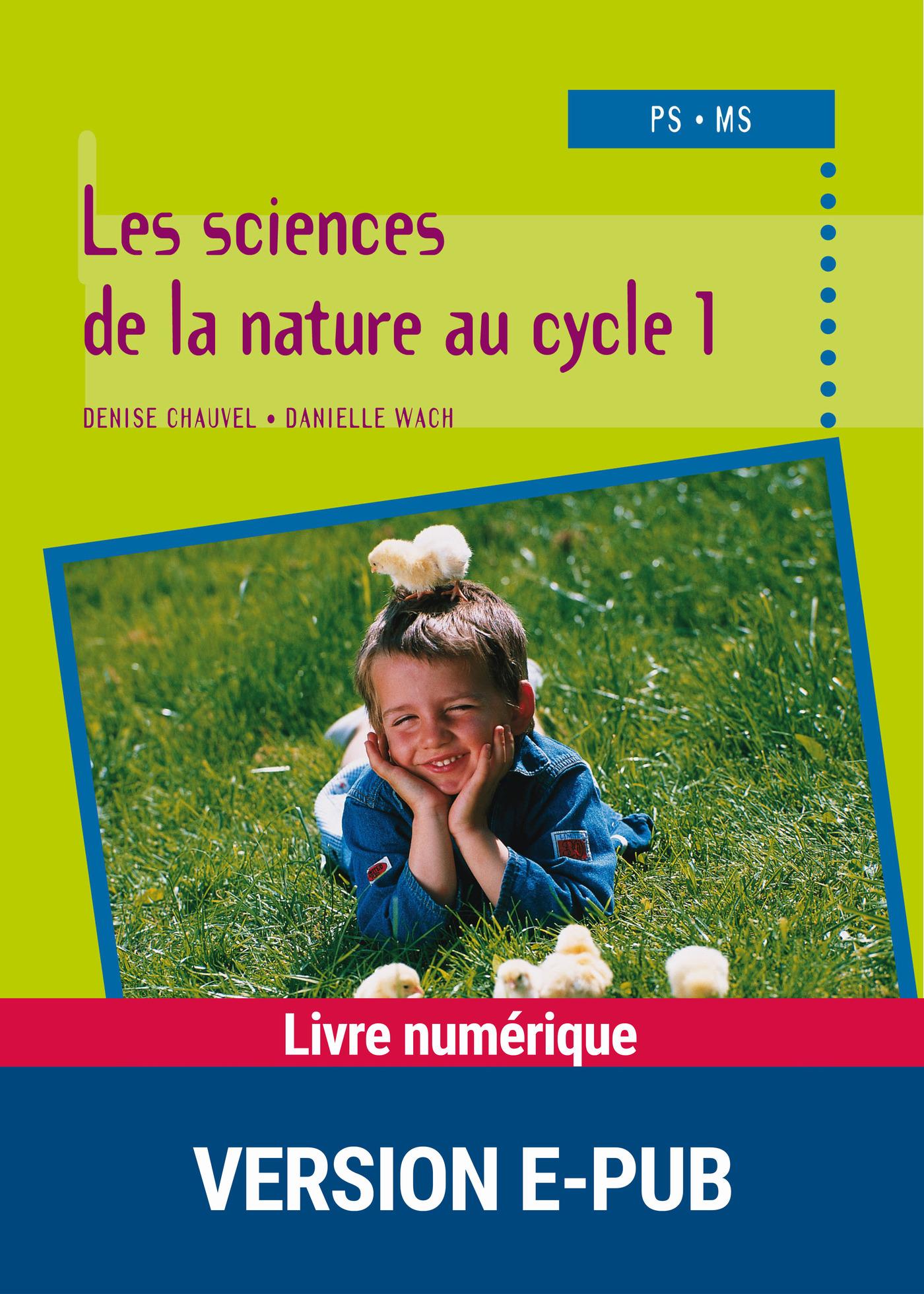 Les sciences de la nature au cycle 1 (ebook)