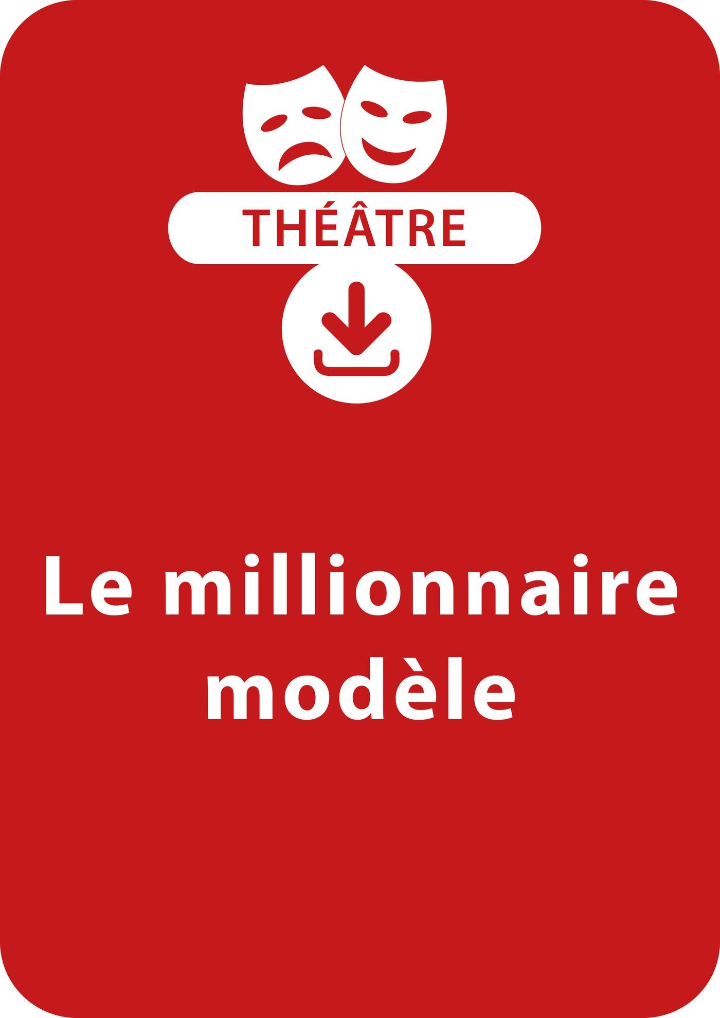 Le millionnaire modèle (ebook)