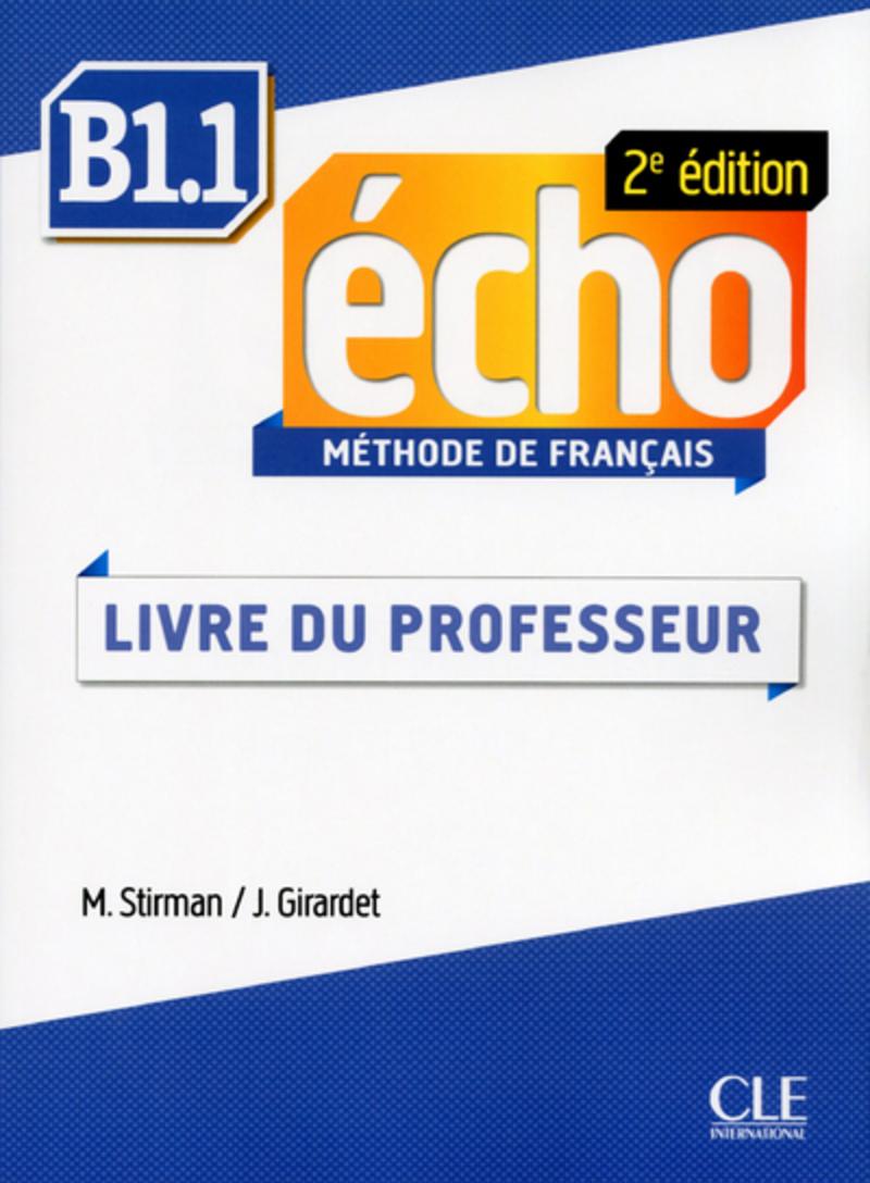 Écho - Niveau B1.1 - Guide pédagogique en version ebook - 2ème édition