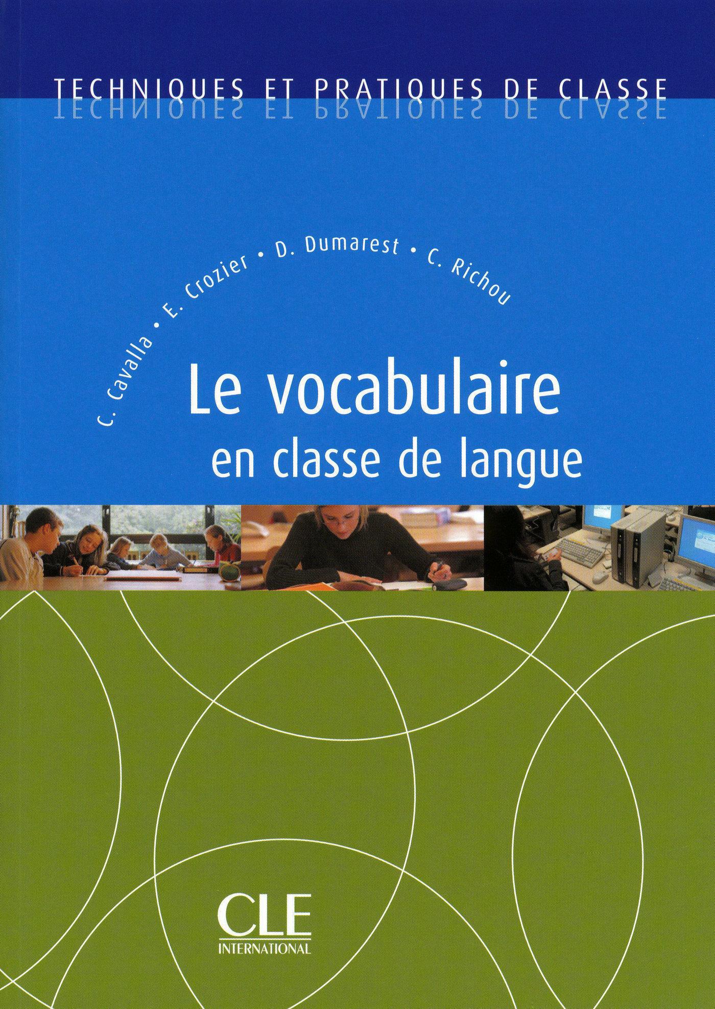 Vocabulaire en classe de langue - Ebook