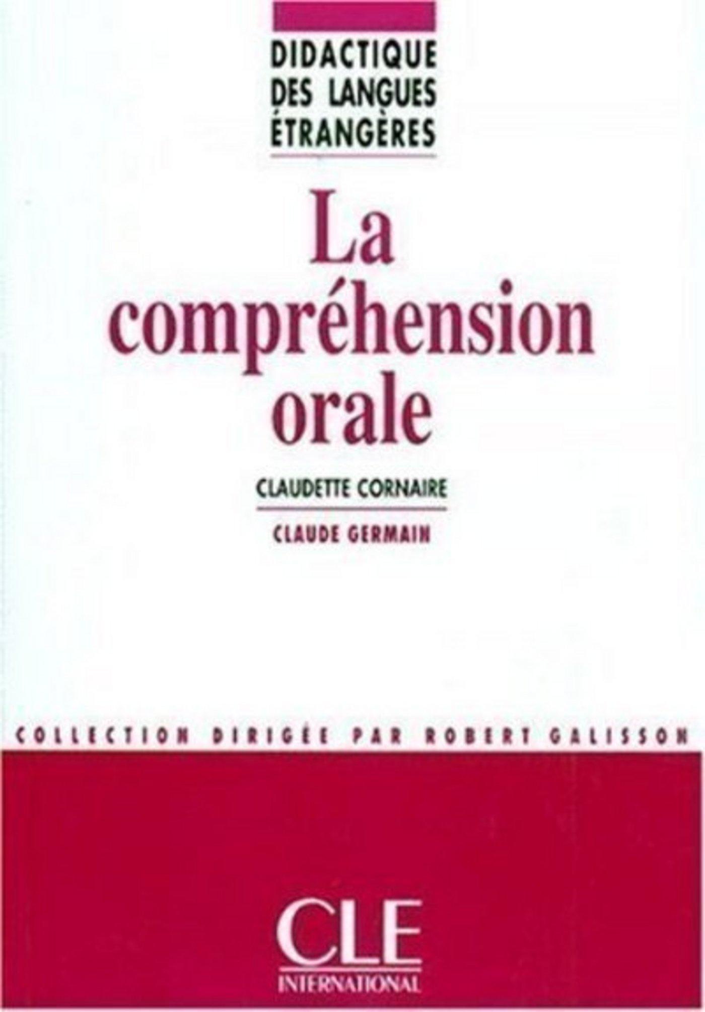 La compréhension orale - Didactique des langues étrangères - Ebook (ebook)