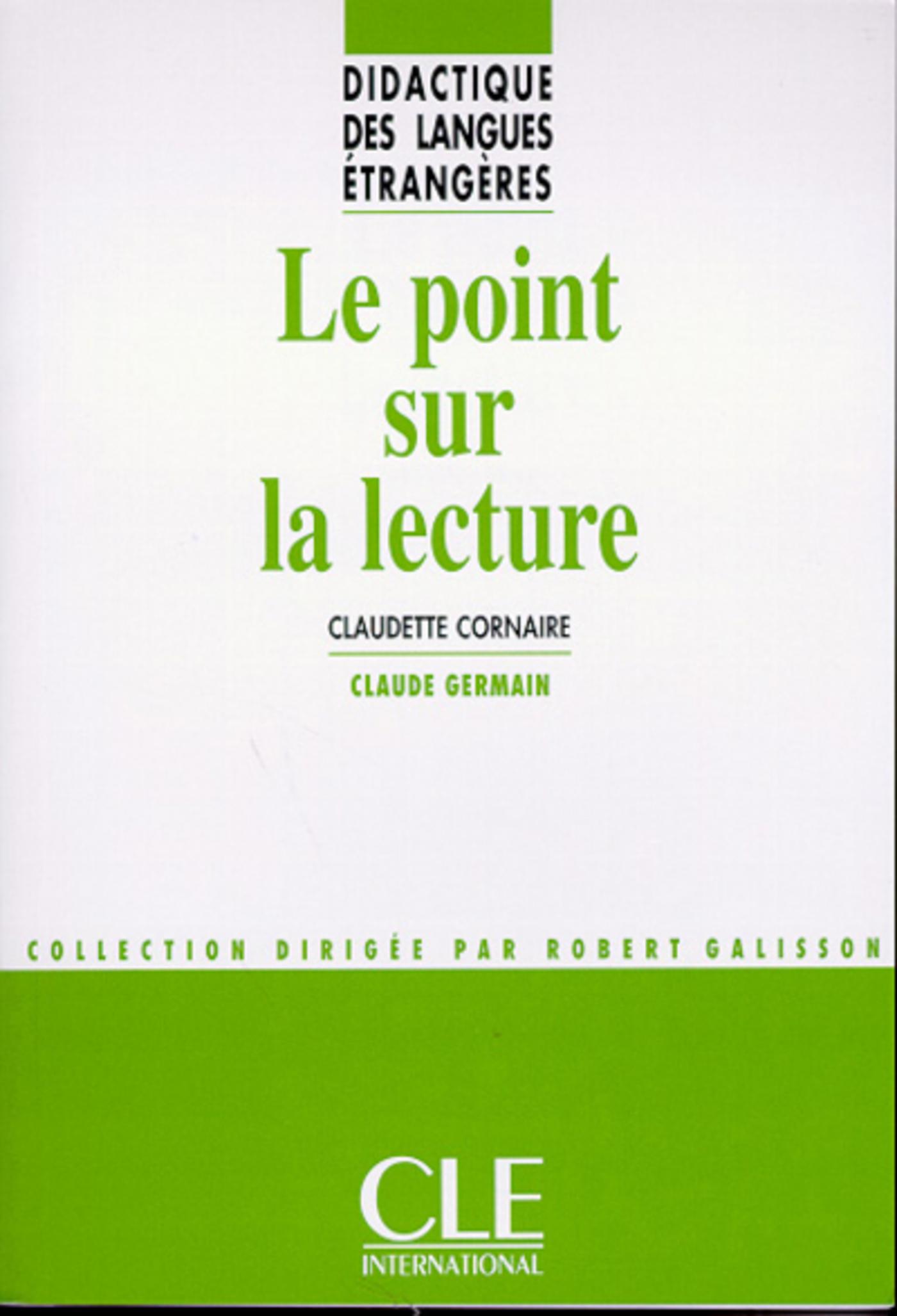 Le point sur la lecture - Didactique des langues étrangères - Ebook (ebook)