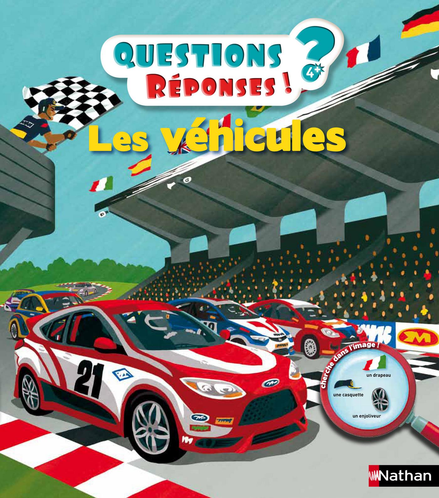 Les véhicules - Questions/Réponses - doc dès 5 ans