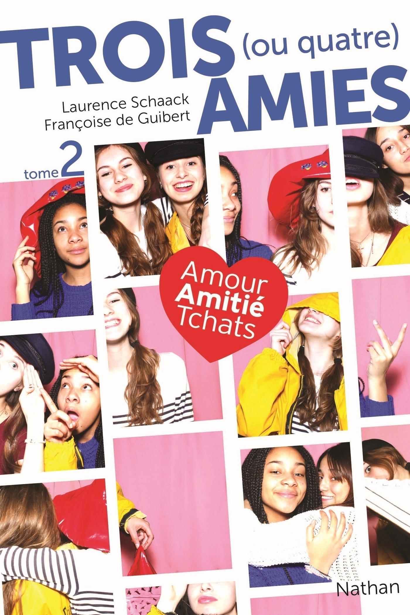 Trois (ou quatre) amies - Tome 2 (ebook)