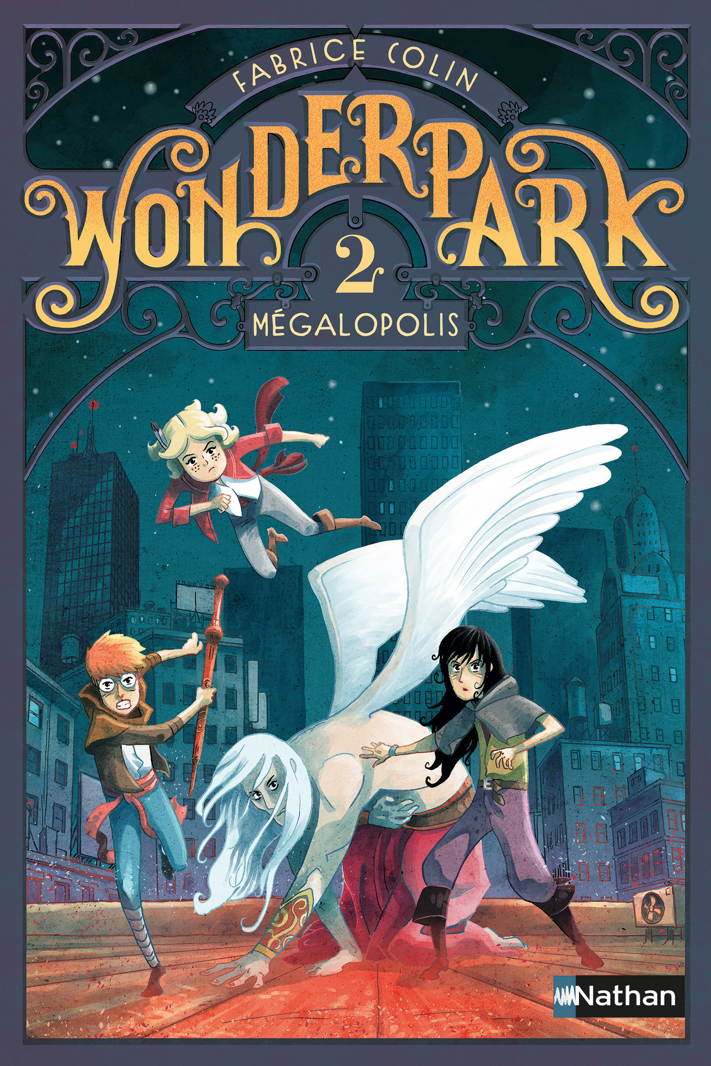 WonderPark - Mégalopolis (ebook)