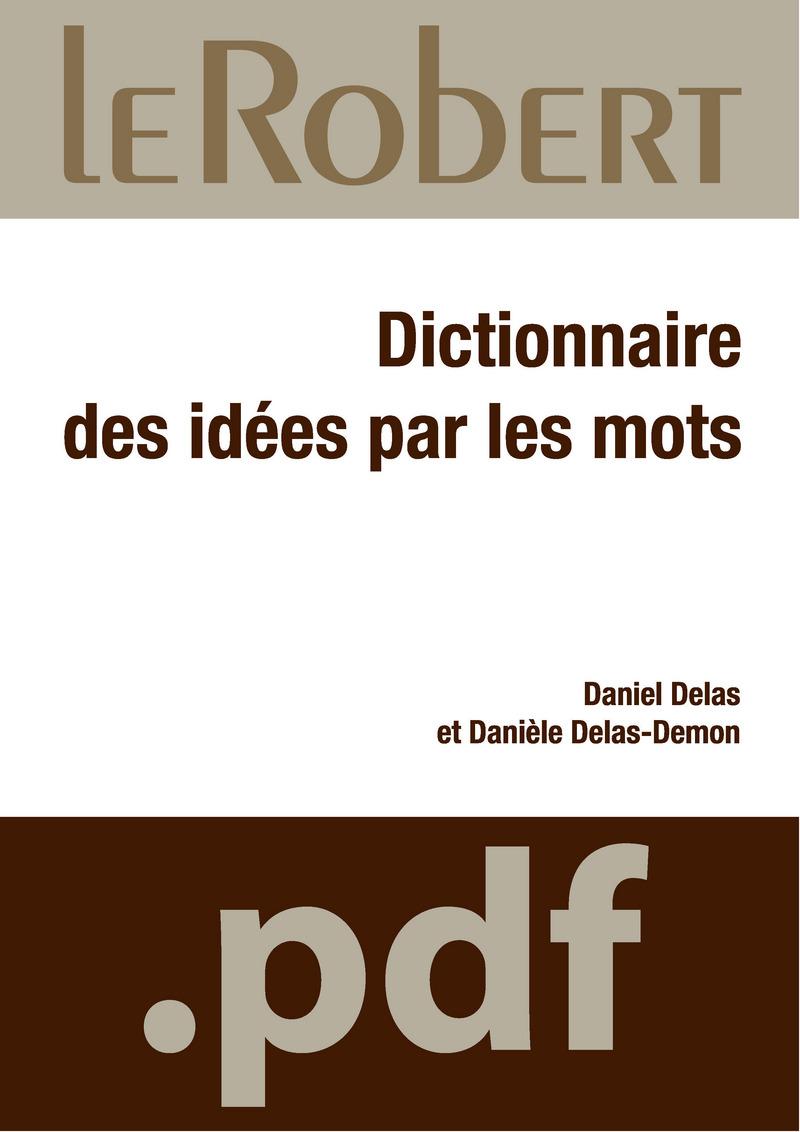 Dictionnaire des idées par les mots