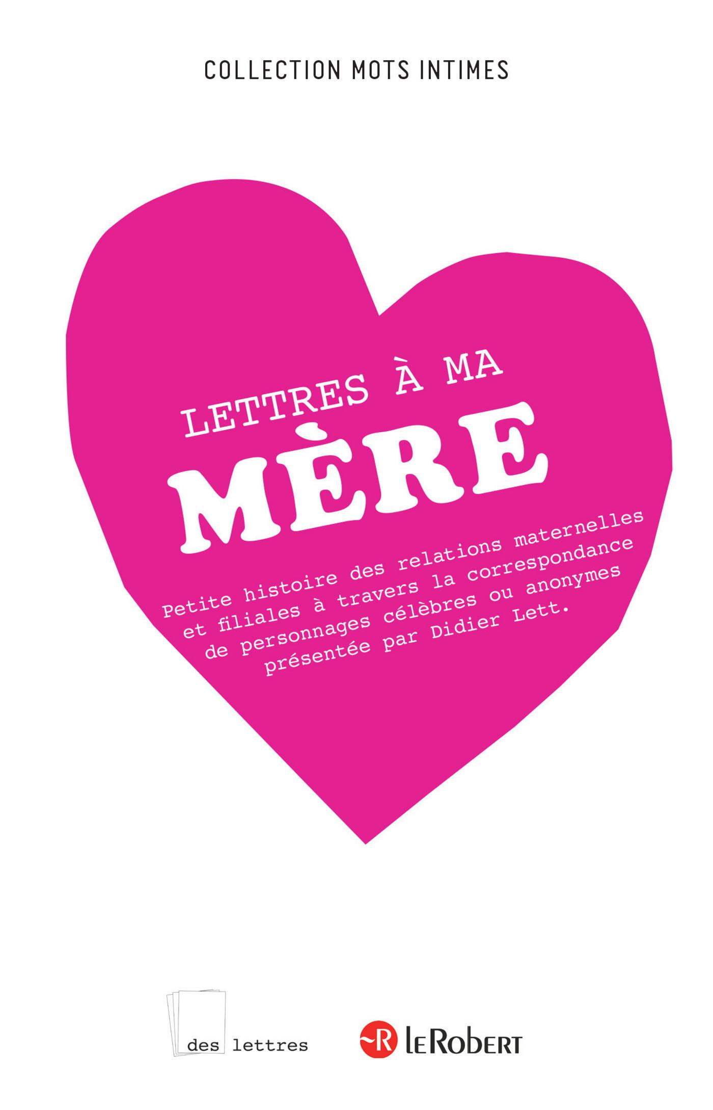 Lettres à ma mère (ebook)