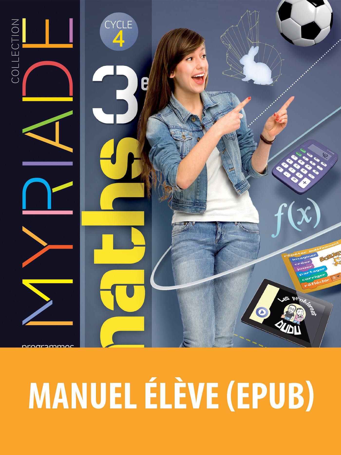 Myriade - Mathématiques 3e
