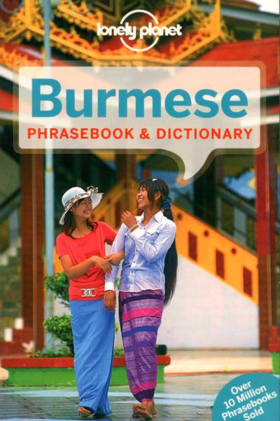 BURMESE PHRASEBOOK & DICTIONARY 5ED -ANGLAIS-