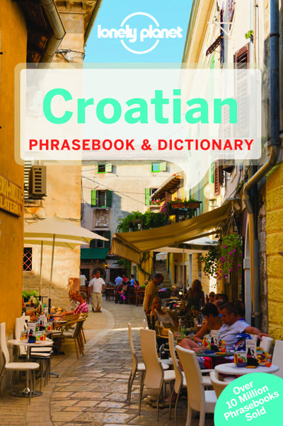 CROATIAN PHRASEBOOK & DICTIONARY 3ED -ANGLAIS-