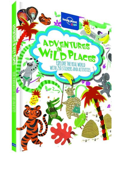 ADVENTURES IN WILD PLACES 1ED -ANGLAIS- ACTIVITIESAND STICKERS - LONELY PLANET KIDS