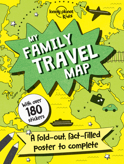 MY FAMILY TRAVEL MAP 1ED -ANGLAIS-