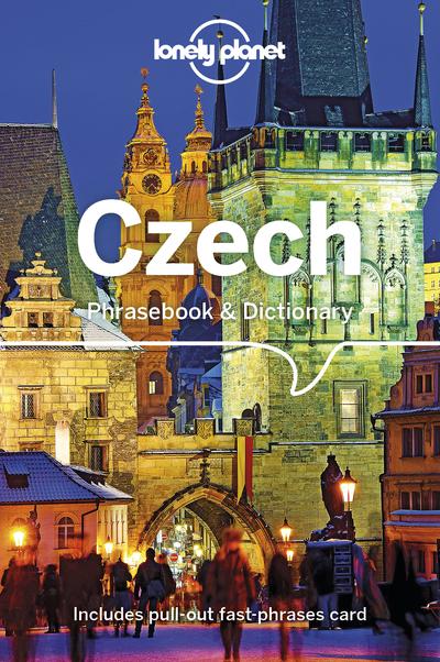 CZECH PHRASEBOOK & DICTIONARY 4ED -ANGLAIS-