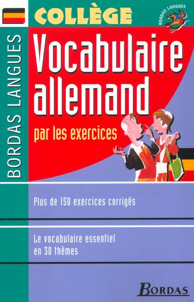 VOCABULAIRE ALLEMAND PAR LES EXERCICES