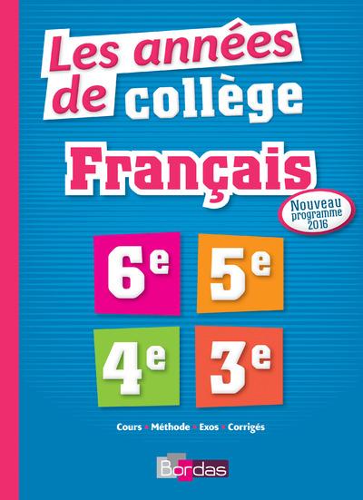 LES ANNEES DE COLLEGE FRANCAIS