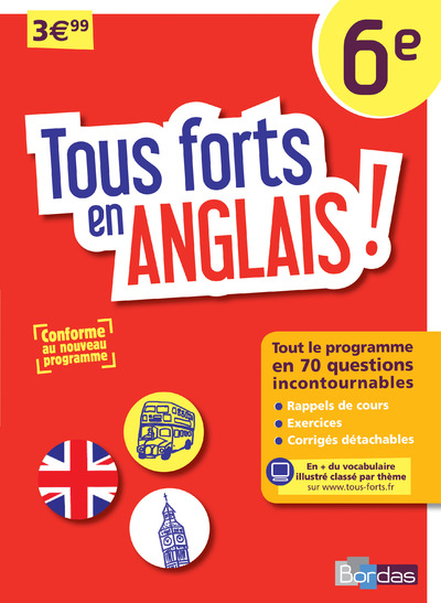 TOUS FORTS EN ANGLAIS ! 6E