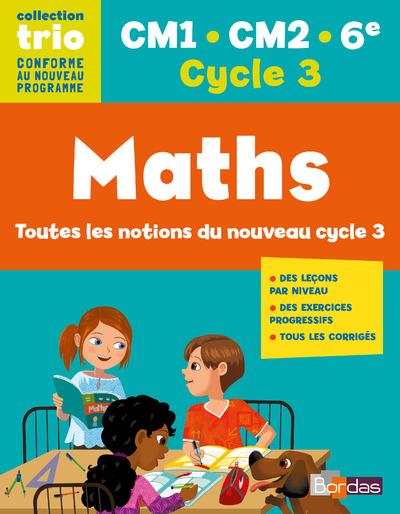 TRIO MATHS CM1.CM2.6 CYCLE 3