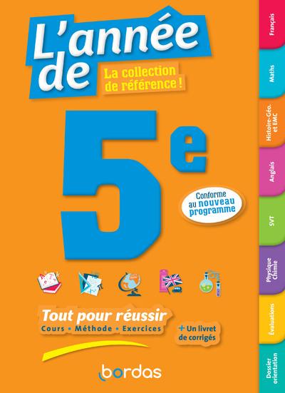 L'ANNEE DE 5E - TOUT POUR REUSSIR