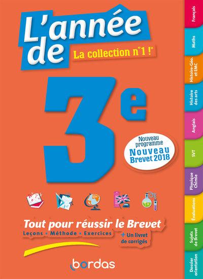 L'ANNEE DE 3E TOUT POUR REUSSIR LE BREVET