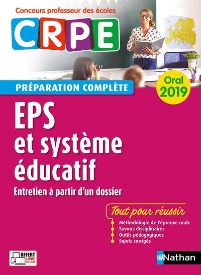 EDUCATION PHYSIQUE ET SPORTIVE - SYSTEME EDUCATIF - ORAL 2019 - (CRPE) - 2018