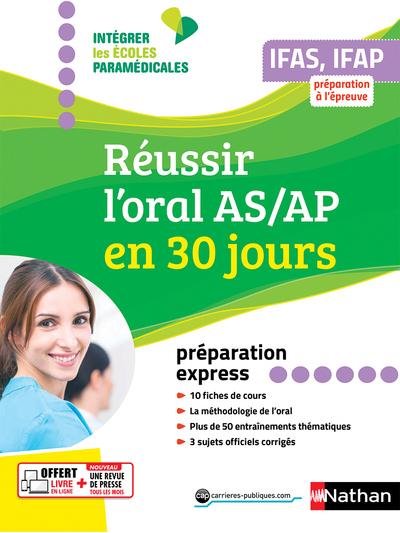 REUSSIR L'ORAL AIDE-SOIGNANT-AUXILIAIRE PUERICULTURE EN 30 JOURS - PREPARATION EXPRESS (IEM) - 2019