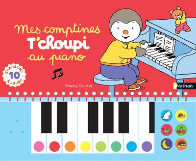 MES COMPTINES T'CHOUPI AU PIANO