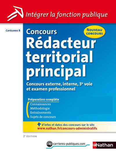 CONCOURS REDACTEUR TERRITORIAL PRINCIPAL CATEGORIEB - NUMERO 44 2014