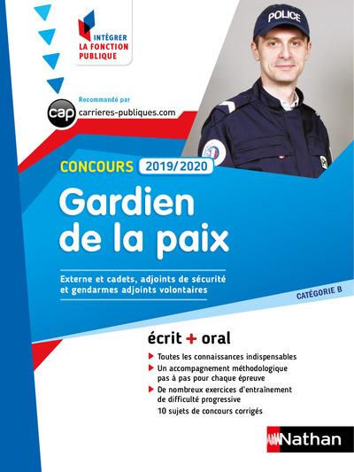 CONCOURS GARDIEN DE LA PAIX 2019/2020 - CATEGORIE B (INTEGRER LA FONCTION PUBLIQUE) NUMERO 17
