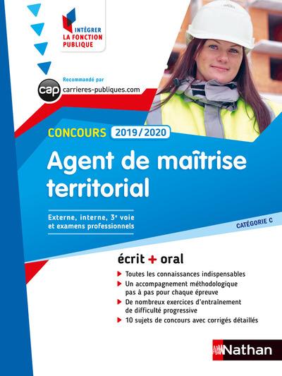 CONCOURS AGENT DE MAITRISE TERRITORIAL 2019/2020 -CATEGORIE C NUMERO 54 (IFP) - 2018