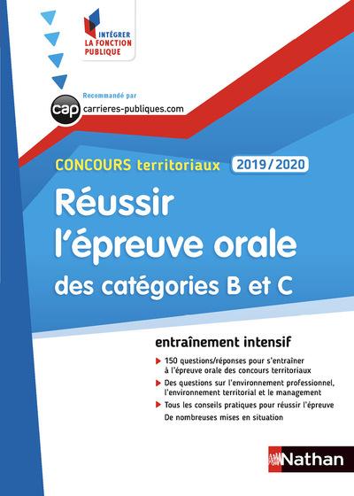 CONCOURS TERRITORIAUX 2019-2020 - REUSSIR L'EPREUVE ORALE DES CATEGORIES B ET C - N51 (IFP)