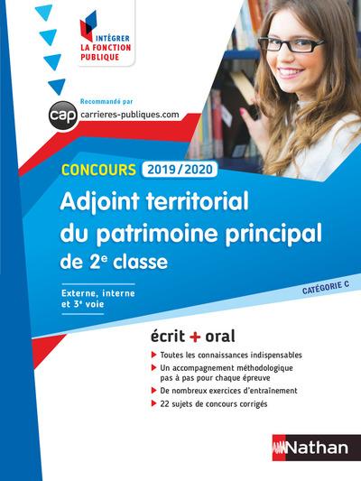 CONCOURS ADJOINT TERRITORIAL DU PATRIMOINE DE 2EMECLASSE 2019-2020 - NUMERO 41 (IFP) - 2018