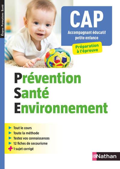 PREVENTION SANTE ENVIRONNEMENT - CAP ACCOMPAGNANT EDUCATIF PETITE ENFANCE (EFS) - 2019