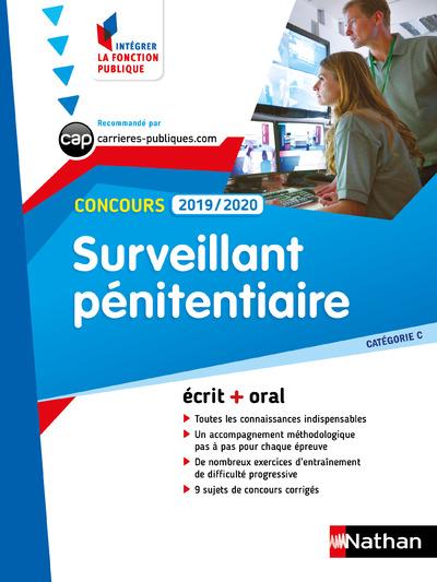 CONCOURS SURVEILLANT PENITENTIAIRE 2019-2020 - CATC  NUMERO 9 (IFP) - 2019
