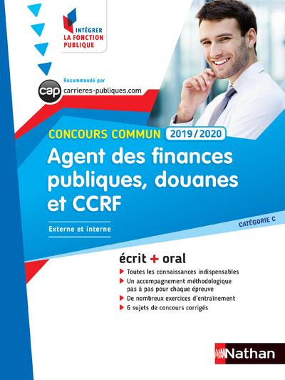 CONCOURS COMMUN AGENT DES FINANCES PUBLIQUES, DES DOUANES ET CCRF 2019/2020 - CAT. C N29 IFP