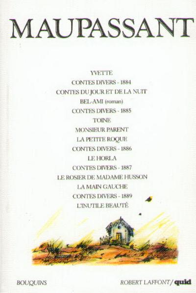 CONTES ET NOUVELLES - MAUPASSANT - ROMAN - TOME 2