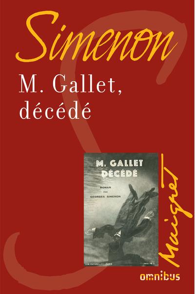 M. GALLET, DECEDE