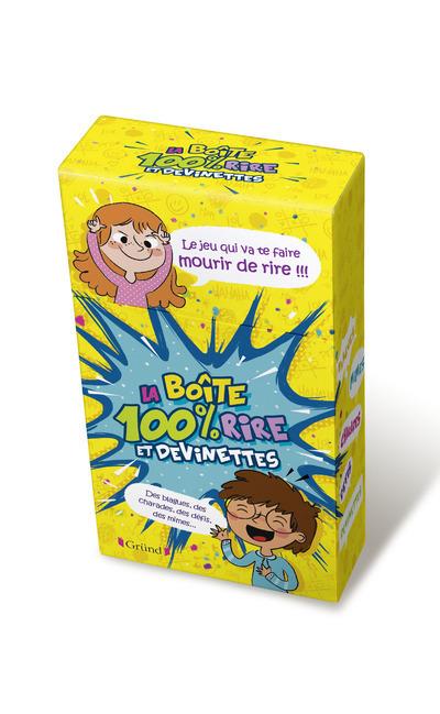 BOITE A QUESTIONS - 100% RIRES ET DEVINETTES
