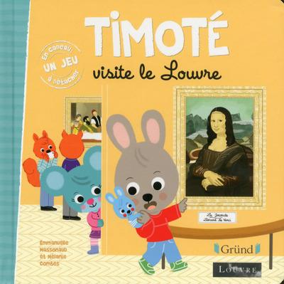 TIMOTE VISITE LE LOUVRE