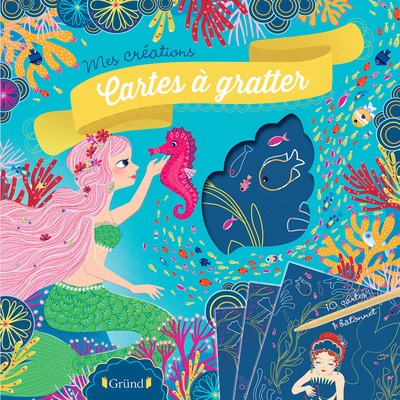 CARTES A GRATTER - SIRENES MES CREATIONS