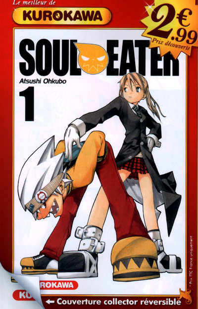 SOUL EATER - TOME 1 (2¿99)