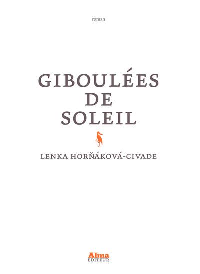 GIBOULEES DE SOLEIL
