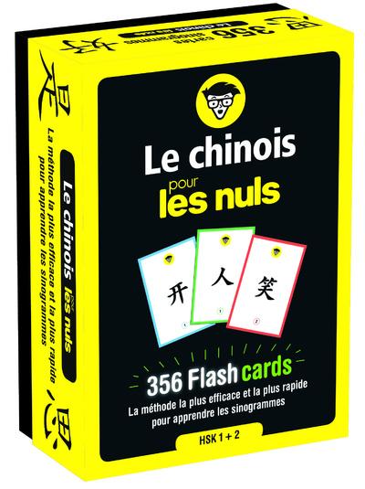 LE CHINOIS POUR LES NULS - 356 FLASH CARDS