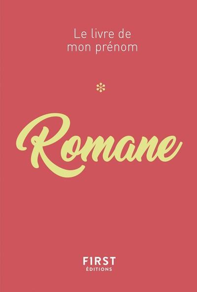 ROMANE - LE LIVRE DE MON PRENOM