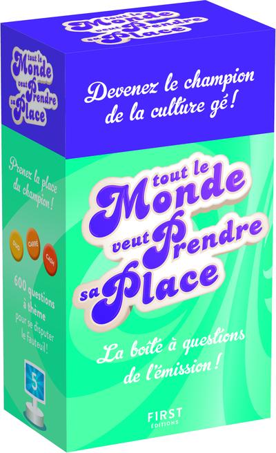 BOITE A QUESTIONS TOUT LE MONDE VEUT PRENDRE SA PLACE