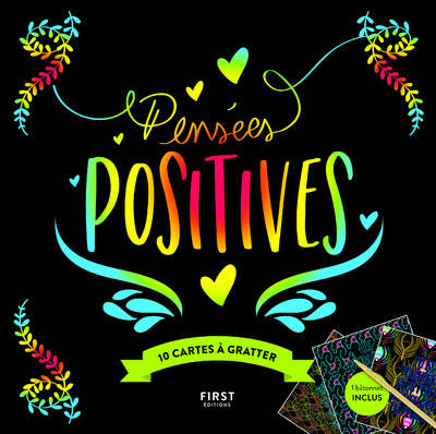 CARTES A GRATTER - PENSEES POSITIVES