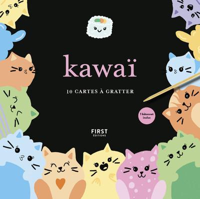 CARTES A GRATTER - KAWAI