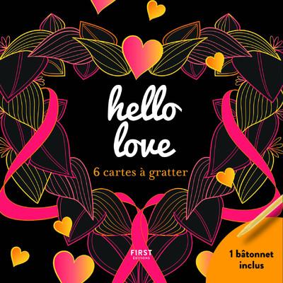 HELLO LOVE - 6 CARTES A GRATTER