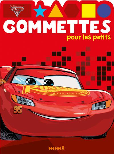 CARS 3 GOMMETTES POUR LES PETITS
